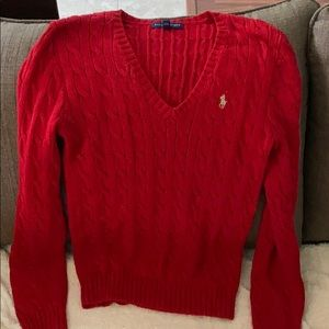 Red RL Sweater